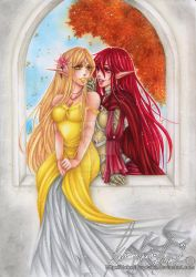 :.Hymniia commission - Princess and Her Knight.: by HokoriCupcake