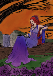 Scarlett coloring contest entry by Shadow-wire