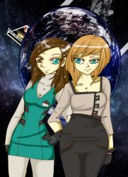 Com: Dead space girls by Danielle-chan