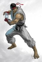 Ryu Street Fighter by Lloyd-Blindman