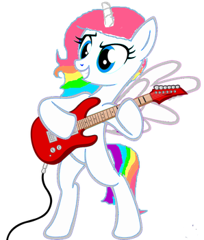 Rainbloo Playing Guitar by RainBloo