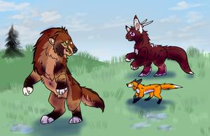 3/3 Hunts! Not sure about those arms, hah. by SinisterlyARPG