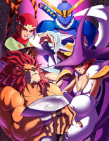 Heroes of Red Earth by Pltnm06Ghost