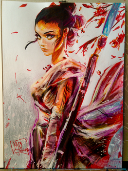 BIRTHDAY GIFT : Rey by AliciaNina
