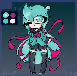 My ver of miku by CatGirl22111