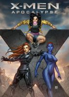 X-Men: Apocalypse by Kromespawn