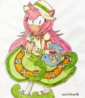 OHS-Amy as Kobato by WhiteXRose96