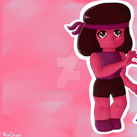 STEVEN UNIVERSE: Ruby and Sapphire 2 by ExeQtie