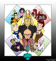 Venture Bros in color by Xarddrax