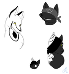 a bunch of dogs by corvid-corrosion