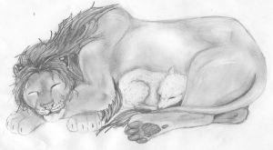 lion and the lamb by evolra