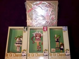 Di Gi Charat Figures by nover