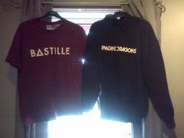 Bastille and Imagine Dragons by NorthernMyth