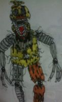 Chica the Chicken (FFPS style) by FreddleFrooby