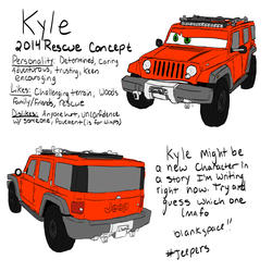 #Jeepers Kyle by TheDragonInTheNight