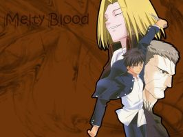 Melty Blood Wallpaper by RealSinata