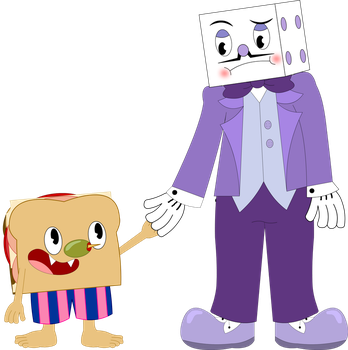 Cheer Up King Dice... by Kleptomaniac-Twin