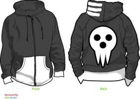 Death the Kid Soul Eater Cosplay Hoodie by Weeaboo-Warehouse