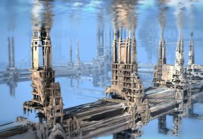 Submerged Structures by HalTenny