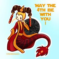 Mer.May the 4th be with you ! ~ by Tsunesamaa