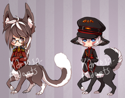 Military Taurs Set Price (CLOSED) by Kariosa-Adopts