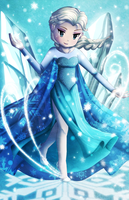 Snow Queen Elsa by Sweet-DaYo