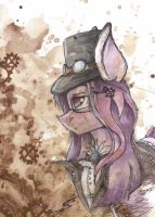 [AT] Steampunk Poni by ScootieGP