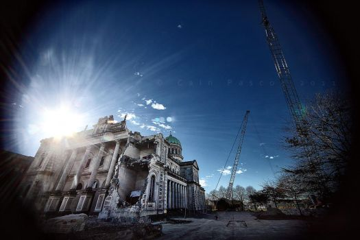 Christchurch In Ruins by CainPascoe
