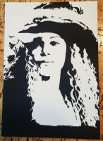 Helena Spray Paint Art by CloudsOfVision