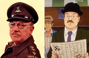 Arthur Lowe's Mainwaring in Anime by CCB-18