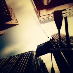 New York - Financial district by DarkSaiF