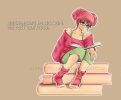 Bookworm by skyscape