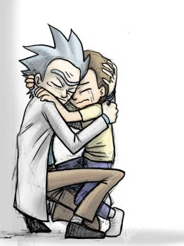 Rick and Morty Hug by jameson9101322