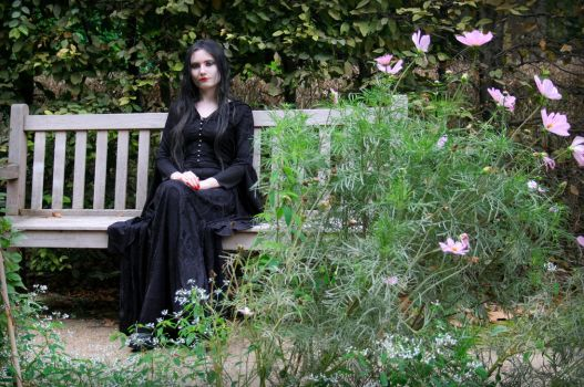 Morticia Addams - IV by Nephelith