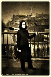 Snape at Spinner's End 01 by PotionsTeddy