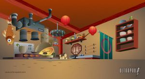 Pucca Layouts - Kitchen by ultrapaul