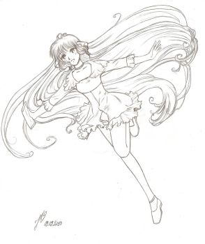 Chi of Chobits by CatariaNigra