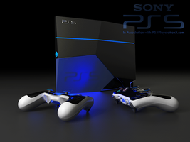 Ps 5 console and controllers by DavidHansson