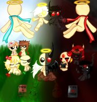 The Binding of Isaac- Hell or Heaven by Judas-Fez