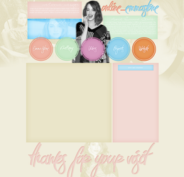 Emma Stone layout 2 by VelvetHorse