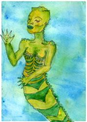 Swamp Mermaid by CuriousOh