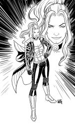 Black Canary by wgpencil