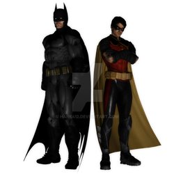 Batman and Robin by hank412