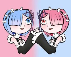 Sister, Sister - Rem and Ram by EvaHeartsYou