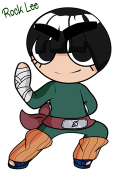 Rock Lee by KilluSenpai
