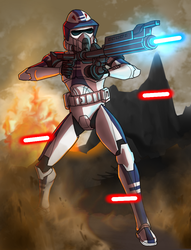 ARF Trooper Smack by Onishark