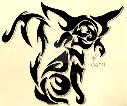 Tribal Espeon by md427