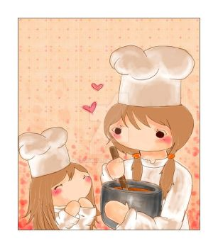 Cooking with Love by Ayandora
