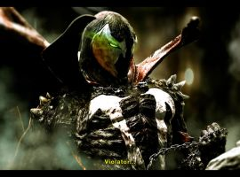 SPAWN vs Violator by CarlosDattoliArt