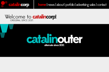 CatalinCorp Rebrand 20 Website Home by CubenRocks